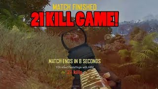 INSANE 26 KILLS IN 2 MAN SQUAD GAME ON THE NEW MAP