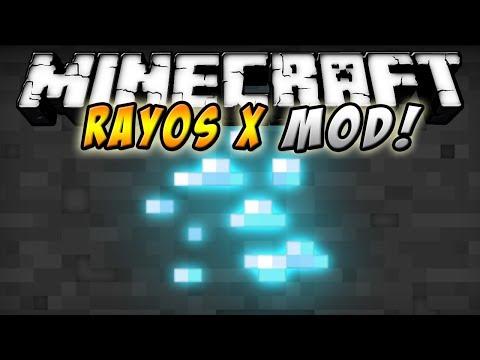 Minecraft 1.7.4 - Rayos X MOD (Nuevos Mods!!!) - ESPAÑOL TUTORIAL