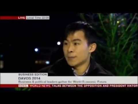 BBC World News - Business Edition from Davos