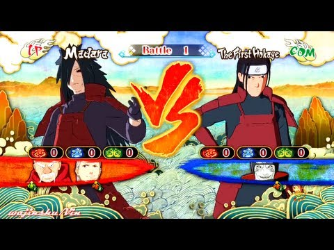 Edo Madara Uchiha Vs. Hashirama Senju | Naruto Shippuden: Ultimate Ninja Storm 3 video