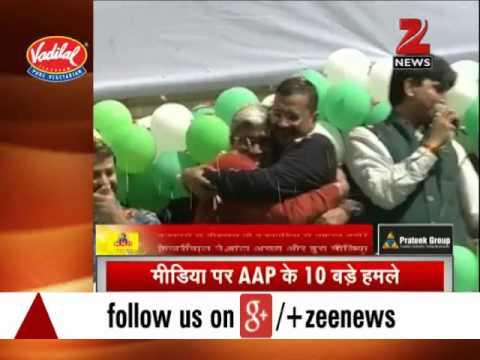 Kumar Vishwas 'affair' row: Arvind Kejriwal lashes out at media