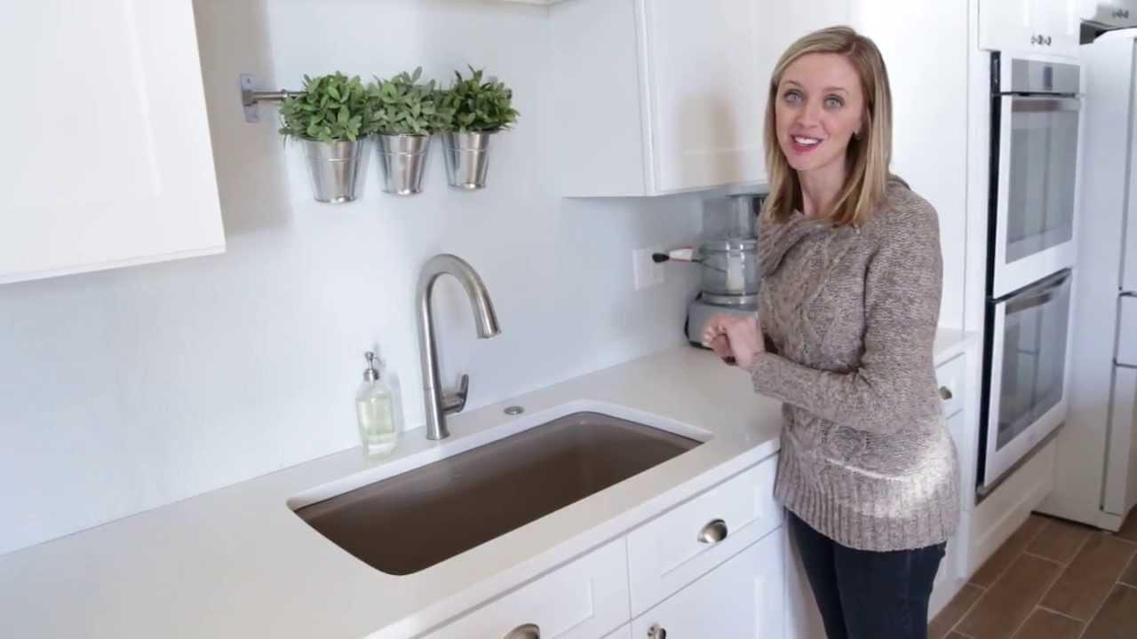 Kohler Sink & Sensate Touchless Faucet Tour -- Gimme Some