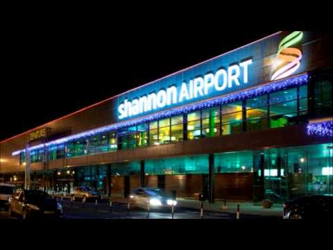 Christmas lights at Shannon Airport with carol singing from the