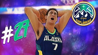 HUGE POSTER Dunk Against the Warriors! | NBA 2K19 MyLeague Expansion | EP27