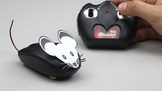 How to Make RC Computer Mouse Car - DIY RC Car
