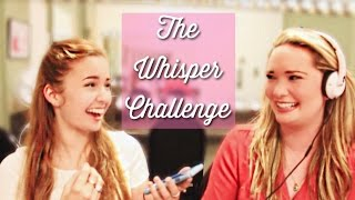 The Whisper Challenge w/ Sarah J Maas!