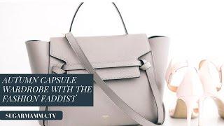 Capsule Wardrobe Fashion - Autumn Style