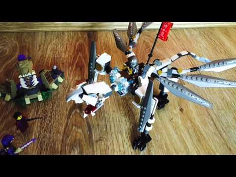 Титановый дракон Ninjago. Обзор китайского набора Вela Ninjago