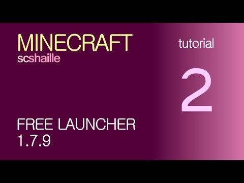 EN Minecraft tutorials: free launcher KeiNett 1.7.9 - how to download and instal