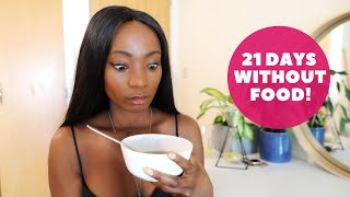 BREAKING MY 21 DAY WATER FAST SAFELY - (THE BEST WAY TO BREAK EXTENDED FASTING) #waterfasting