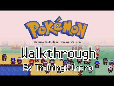 PokeMMO - Ev Training: Intro