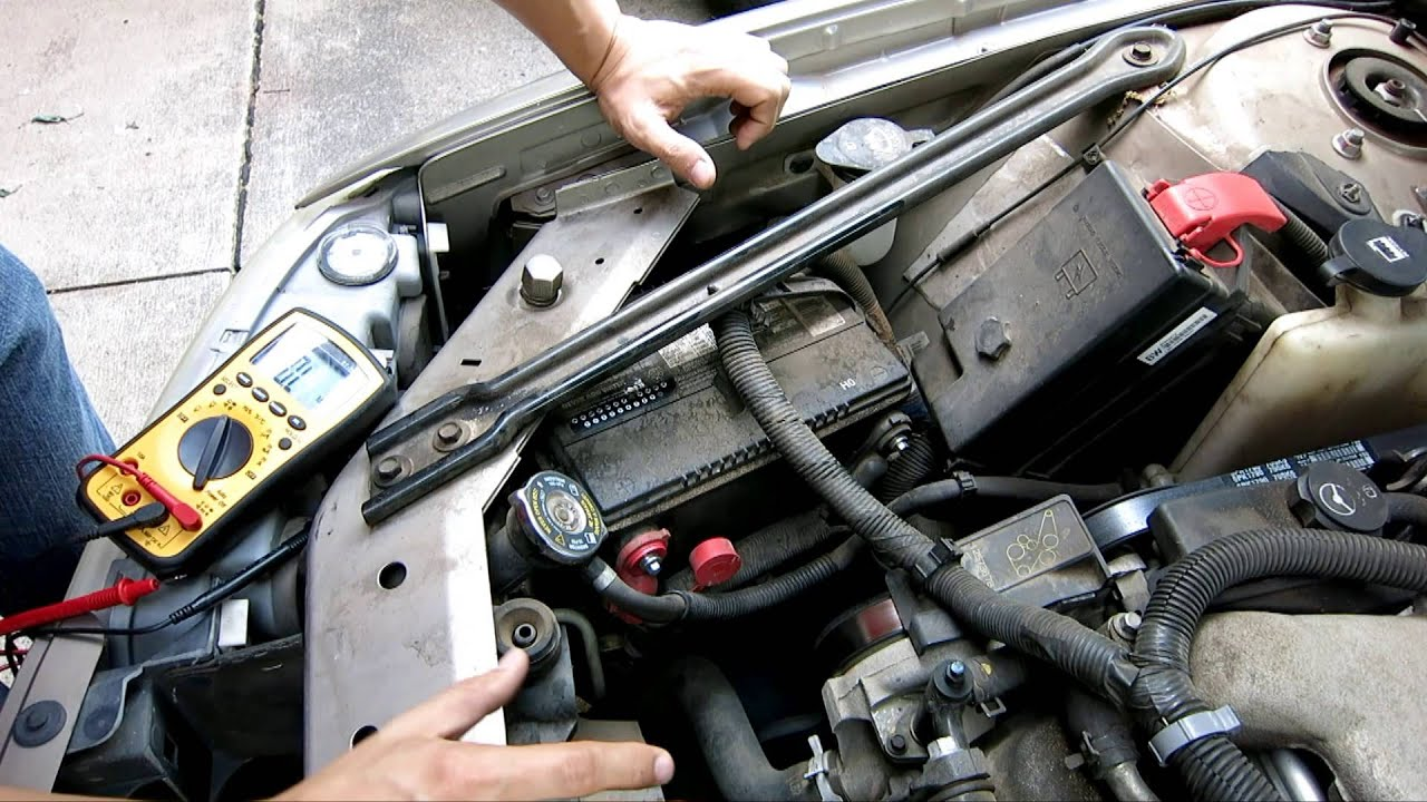 How To Disconnect Amp Replace Car Battery Touching 12v