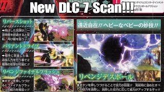 Xenoverse 2 New DLC 7 Scans! Baby Vegeta Is Looking Amazing!