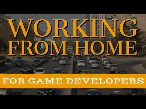 Should game developers work from home or go into an office?
