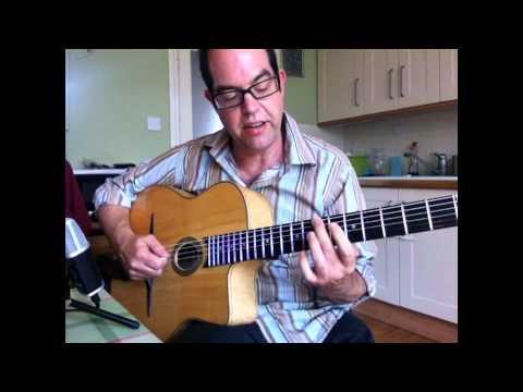 Bireli Lagrene Style Arpeggio Exercise - Gypsy Jazz Guitar Lesson