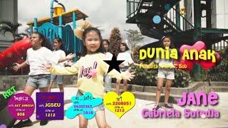 DUNIA ANAK  - JANE GABRIELA SUTEDJA  [ Official Music Video ]