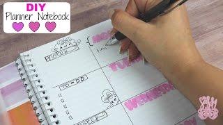 DIY Planner Notebook| Easy & Budget friendly