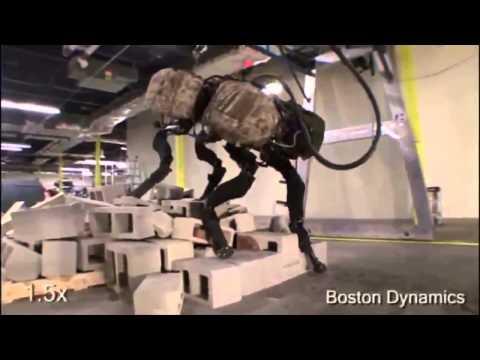 До чего дошел прогресс! Военные роботы!