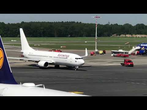 BREAKING NEWS: 1st Eurowings-painted B737 seen moving today in Hamburg!!! [AirClips]