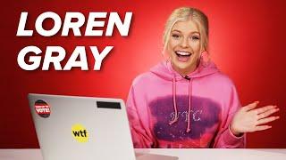 Loren Gray Takes The Millennial Test