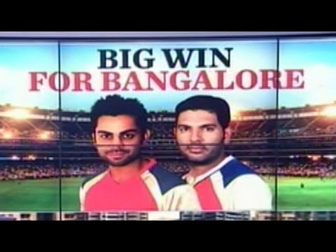 Ipl 7: Game 2: Rcb Trounce Delhi Daredevils video