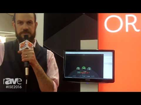 ISE 2016: Biamp Systems Discusses Oreno Mobile Control Solution for Tesira Audio DSP Platform