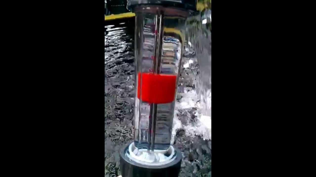 débit mètre bassin carpe koi