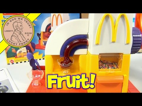 McDonald's 1993 Frozen Fruit Snack Maker Set - Making Frozen Treats!