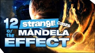 Are you from a Parallel Universe?   12 Strange cases of the MANDELA EFFECT  (CC: English)