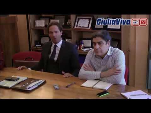 Sabato 20 dicembre 2014 conferenza stampa di Francesco Mastromauro sul Giulianova Calcio