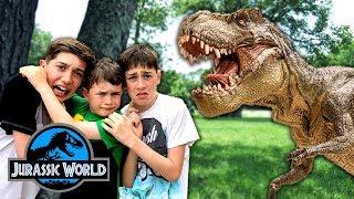 Jurassic World - Hide & Seek Challenge with Dinosaurs!! - Fun Kids Parody