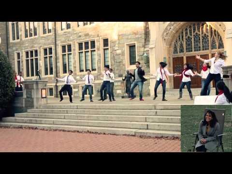 Bollywood Hero Proposal At Georgetown University | November 15, 2014 video