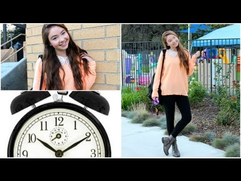 Running late for school?! My time saving ideas!