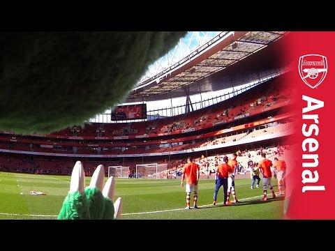 GunnerCam: Arsenal v Everton behind the scenes