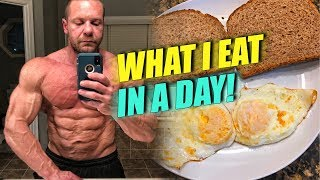 What I Eat in a Day - Boxing Fuel | Tiger Fitness