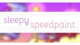 Sleepy // speedpaint