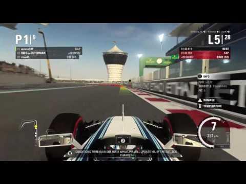 F1 abu dubai