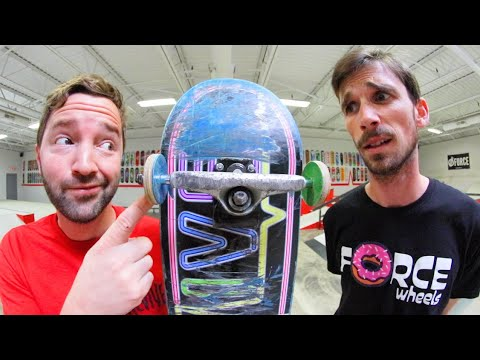 The WORST Skateboard Wheels Ever! / You Must Skate Them