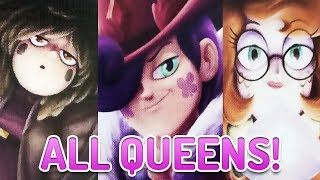 ALL 13 QUEENS OF MEWNI REVEALED! (BOY QUEEN!) - Star vs the Forces of Evil Breakdown