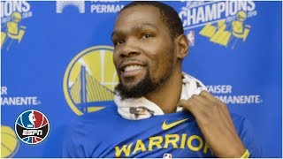 Kevin Durant has 'no clue' where Knicks rumors came from | NBA on ESPN
