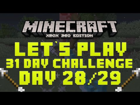Minecraft Xbox 360 ★ 31 Day Lets Play Challenge ★ Arrow Hunt Episode 28 29