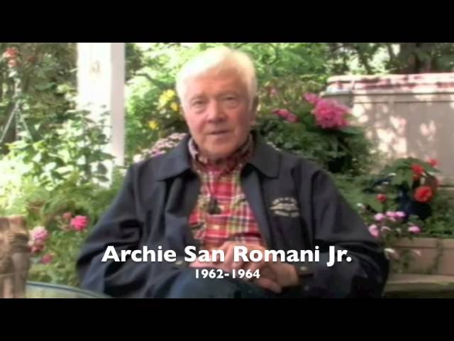 They Were Tigers interview - Archie San Romani Jr.