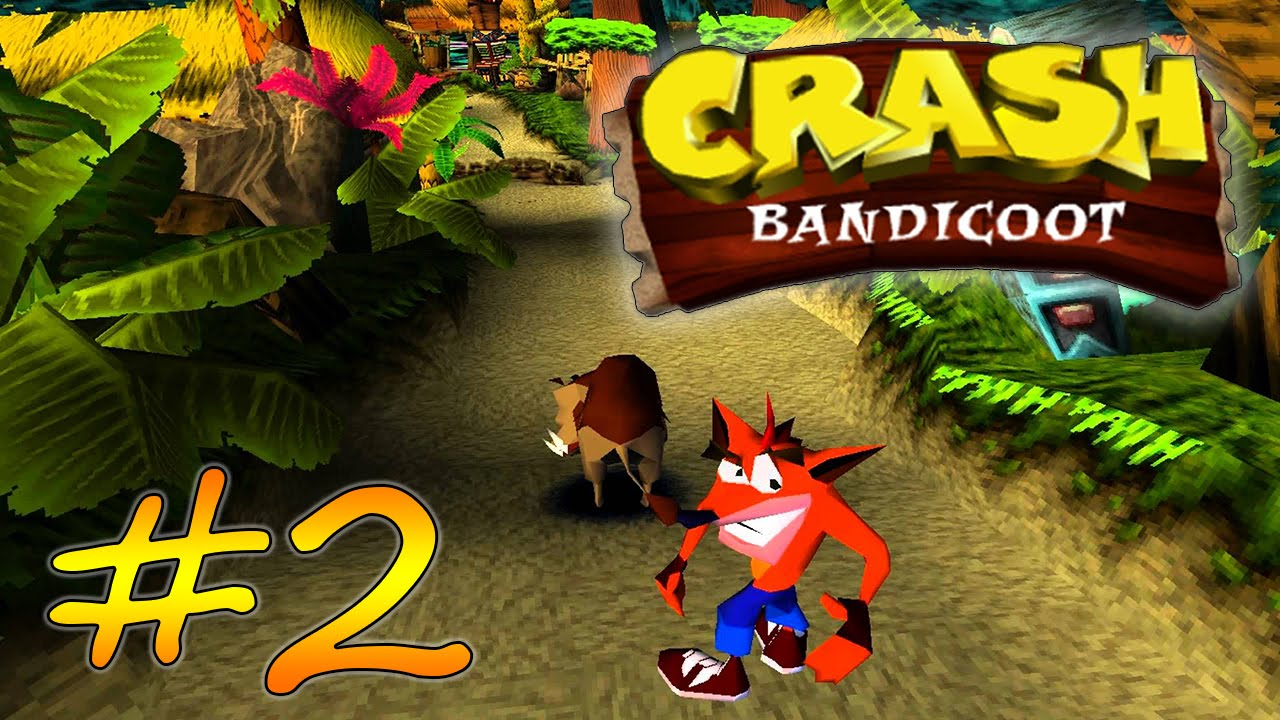 Crash Bandicoot 2 Прохождение Видео