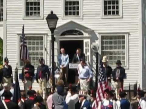 Remarks - Burning of the Fleet Day, Essex, CT