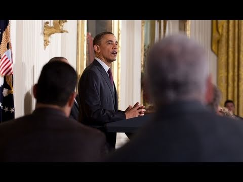 President Obama at the 2011 Easter Prayer Breakfast