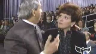 Benny Hinn - MIGHTY Anointing Falling on Studio Audience