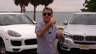 Comparativo híbridos - BMW X5/Porsche Cayenne - Matias Antico - TN Autos