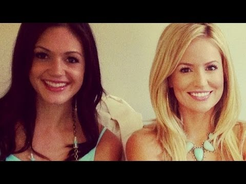 The Bachelorette's Emily Maynard Would've Pushed Brooks Into the Ocean! | POPSUGAR News