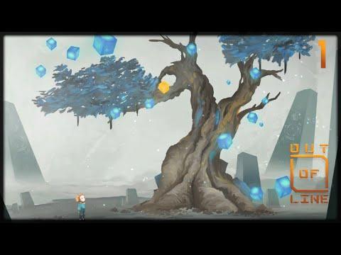 1 - San und der Baum der Erinnerungen | Out of Line | Let's Play deutsch ❖ Indie Game | Adventure