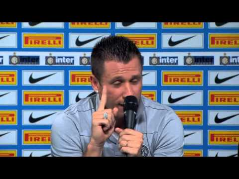 Antonio Cassano unveiled as he swaps AC for Inter Milan
